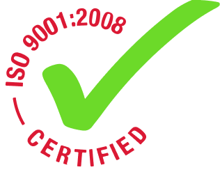 ISO 9001:2008 Certification Badge
